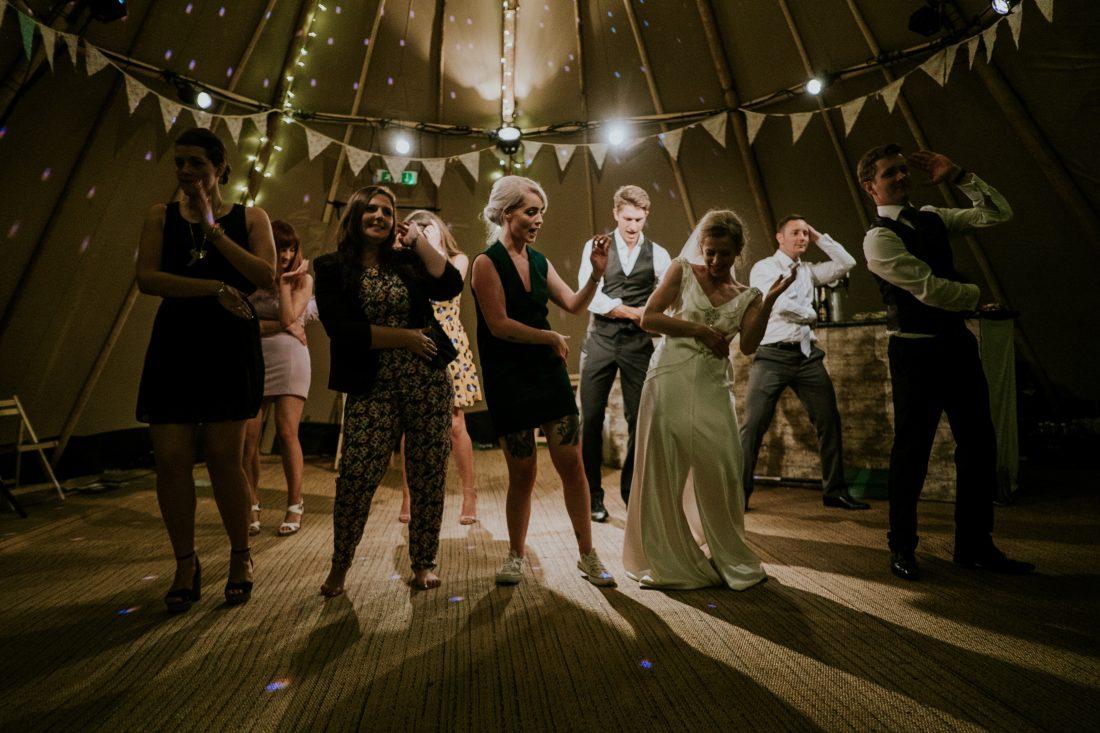 Bailes originales grupal de bodas